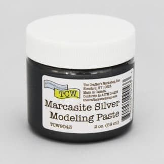TCW9043 Marcasite Silver Modeling Paste 2 oz.